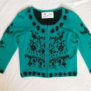 Anthropology Laureate Lane sweater cardigan size M